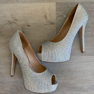 Sparkly Heels with Sequins